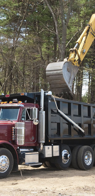 NJ Excavating hauling services