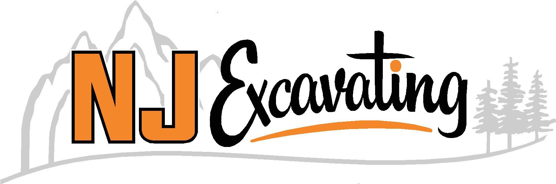 NJ Excavating Logo
